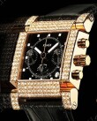 Xemex Swiss Watch - Avenue Chronometer Chronograph Las Vegas Diamonds