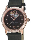 Frederique Constant - Ladies  Double Heart Beat Chocolate
