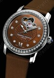 Frederique Constant - Ladies Automatic Chocolate Double Heart Beat