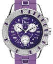 Dior - Christal Chronograph Rubber Rot
