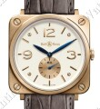 Bell & Ross - BR-S Gold Silver dial