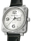 Bell & Ross - BR01-96 Big Date White Dial