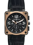 Bell & Ross - BR01-94 Pink Gold & Carbon