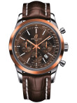 Breitling - Transocean Chronograph Stahl & Gold