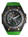 Linde Werdelin - Oktopus Double Date Carbon Green