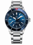 Tourby Watches - Lawless Blue 40 Red Edition