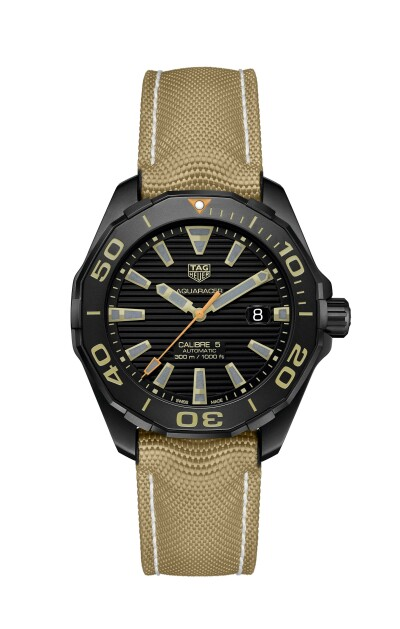 Aquaracer 300M Calibre 5 Black Titanium