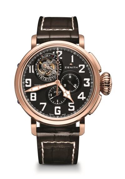 Heritage Pilot Type 20 Tourbillon