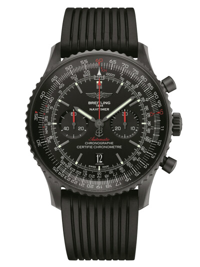 Navitimer 01 (46 mm) Blacksteel
