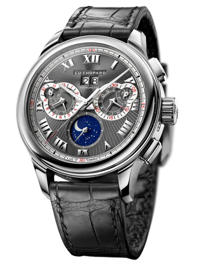 Perpetual Chrono in 18ct Fairmined White Gold