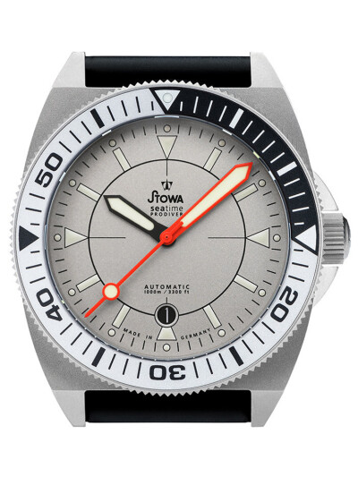 Prodiver Rhodium Orange Zeiger