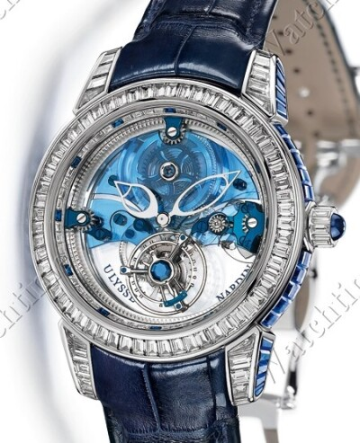 Royal Blue Tourbillon Haute Joaillerie