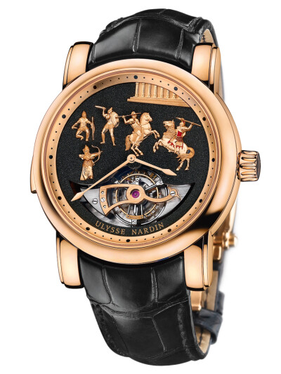 Alexander the Great Minute Repeater Westminster Carillon Tourbillon Jaquemarts
