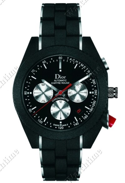 Chiffre Rouge A05 Black Time Automatic Chronograph