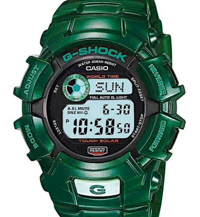 G-Shock go green project