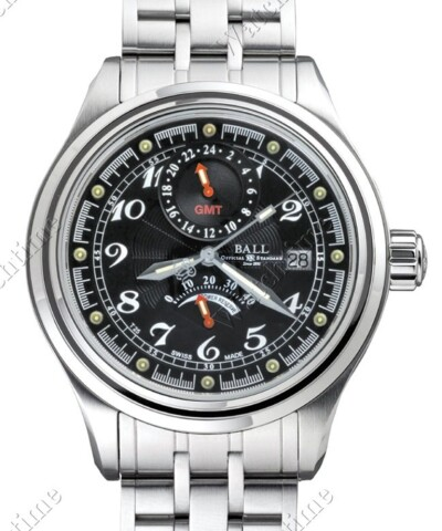 Trainmaster Voyager GMT Power Reserve