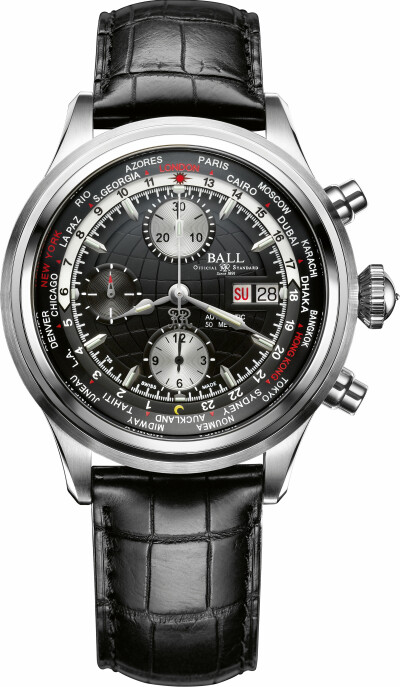 Trainmaster Worldtime Chronograph